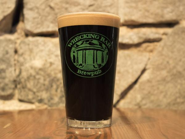 Jemmy Stout - A dark stout, yet with light body and creamy head. $3/half-pint, $5.5/pint