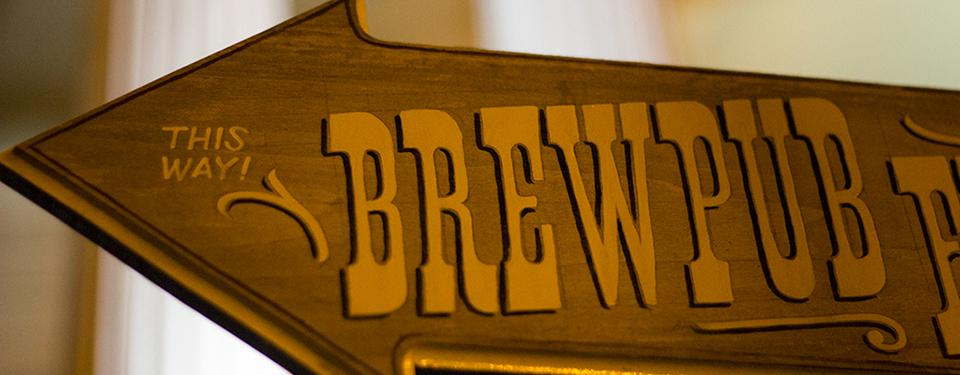 Brewpub Sign